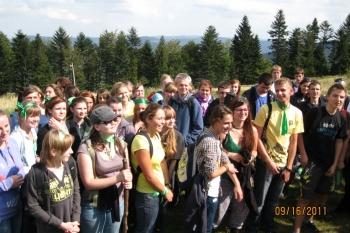Integracja liceum klasy pierwsze 2011